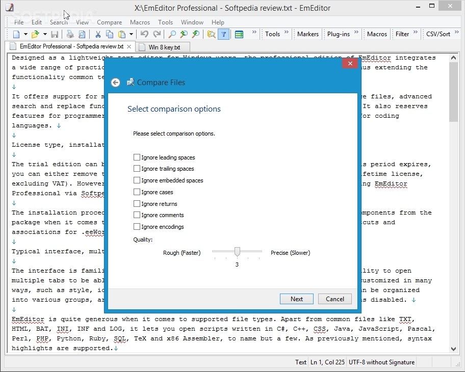 EmEditor Professional Review - Intricate Text Editor for