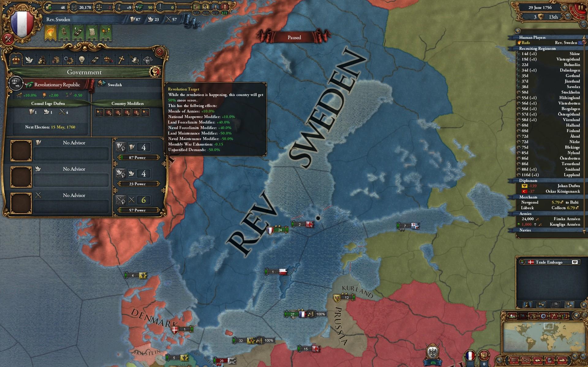 Europa Universalis Iv Art Of War Adds New Start Date