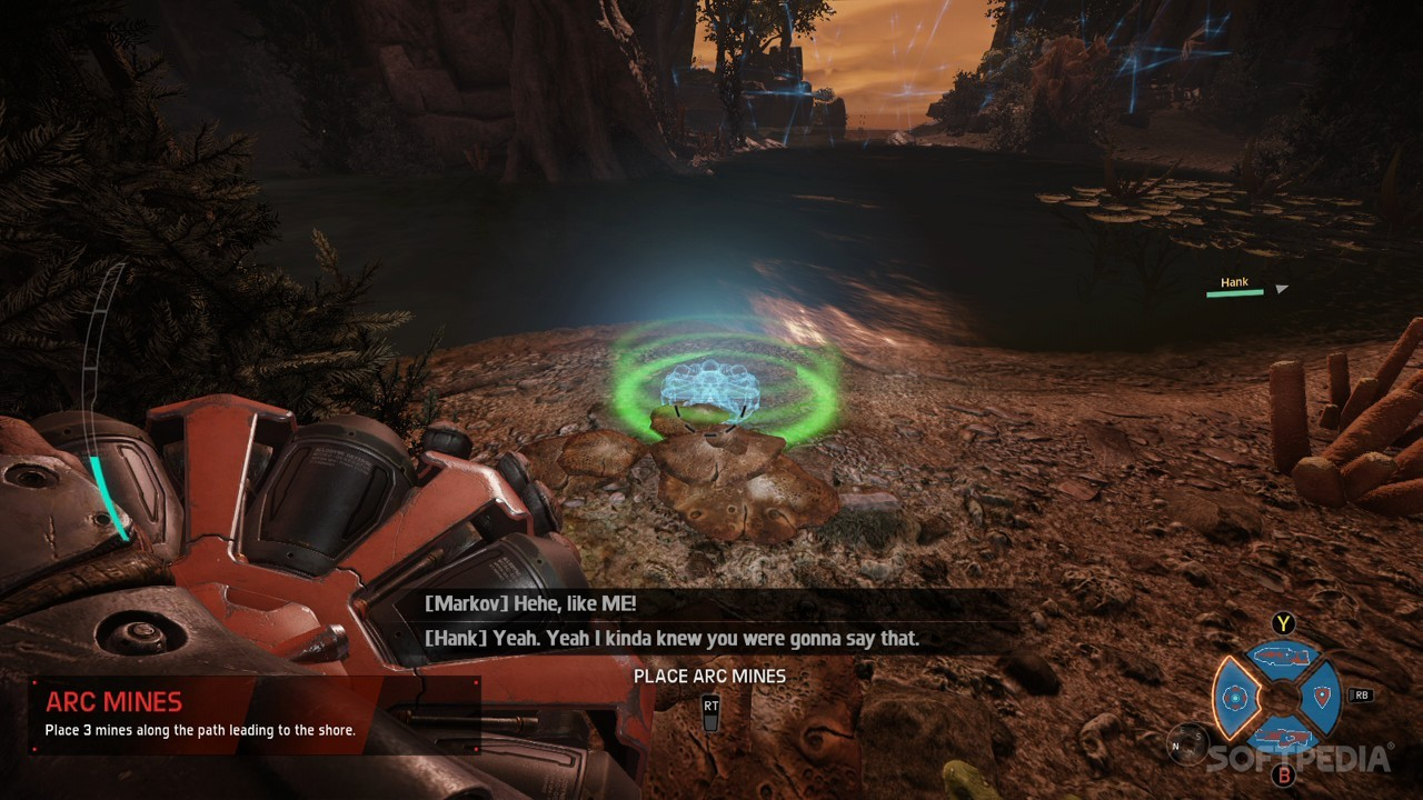 Evolve Review Xbox One Power Relay Plant Mines In
