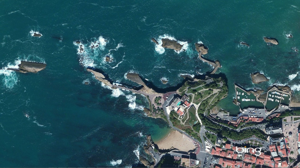 bing maps aerial imagery theme europe