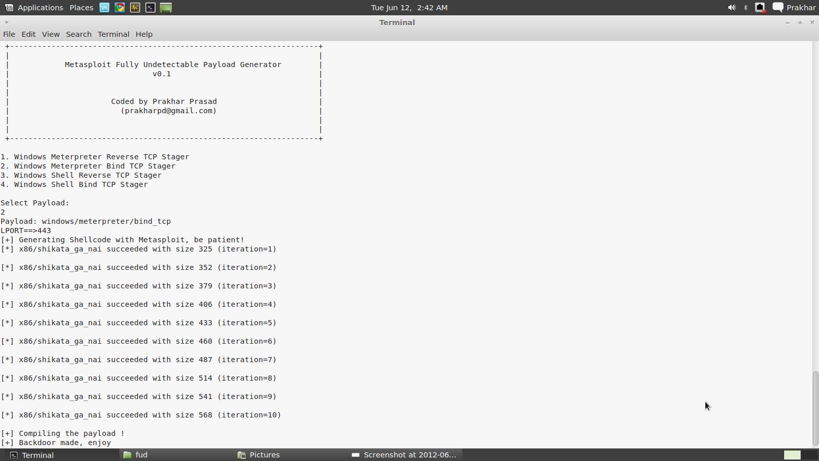 Expert Develops Script That Evades AV Detection for