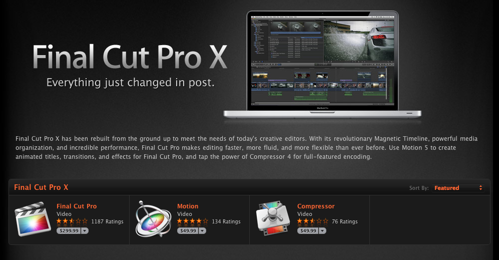 FCP X Buyers Forced to Upgrade Their Hardware, Reports Claim