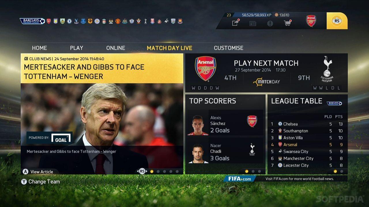 Fifa 15 ultimate team download.