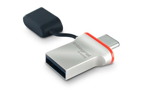 Fusion usb type c flash drive launched by integral memory big things have small beginnings freerunsca