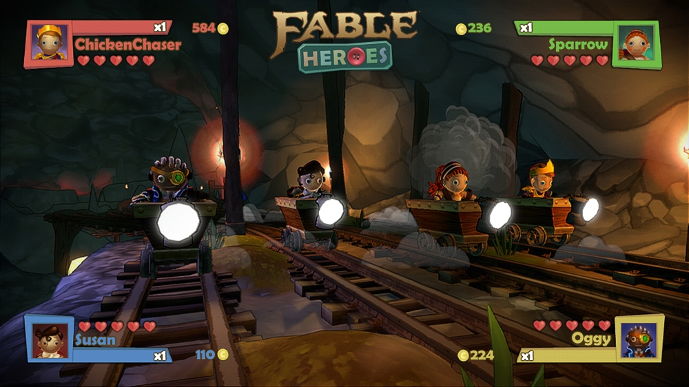 Role Playing Games For Xbox 360 : Fable heroes is a downloadable co op brawler coming to xbox soon