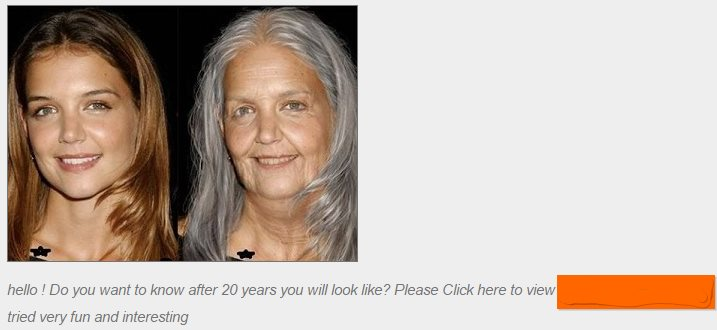 Face Ageing App Distributed on Facebook Hijacks Account
