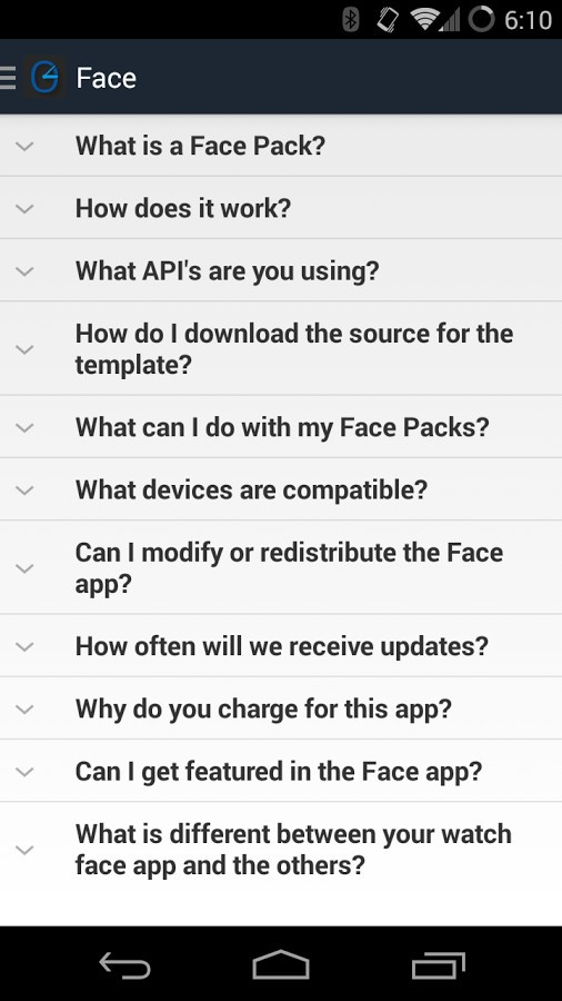 Face for Wear Customization App Will Make Your Android Wear