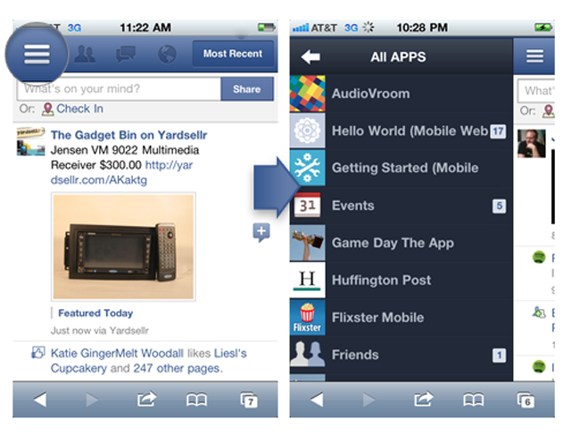 facebook web for mobile