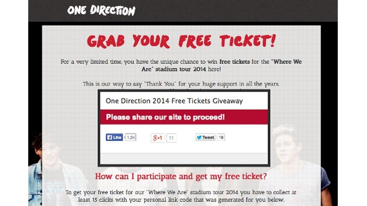 Free ticket giveaway