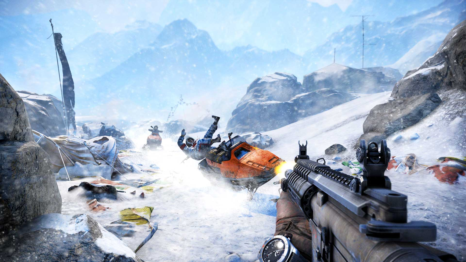 far cry 4 has a complex world filled with random encounters