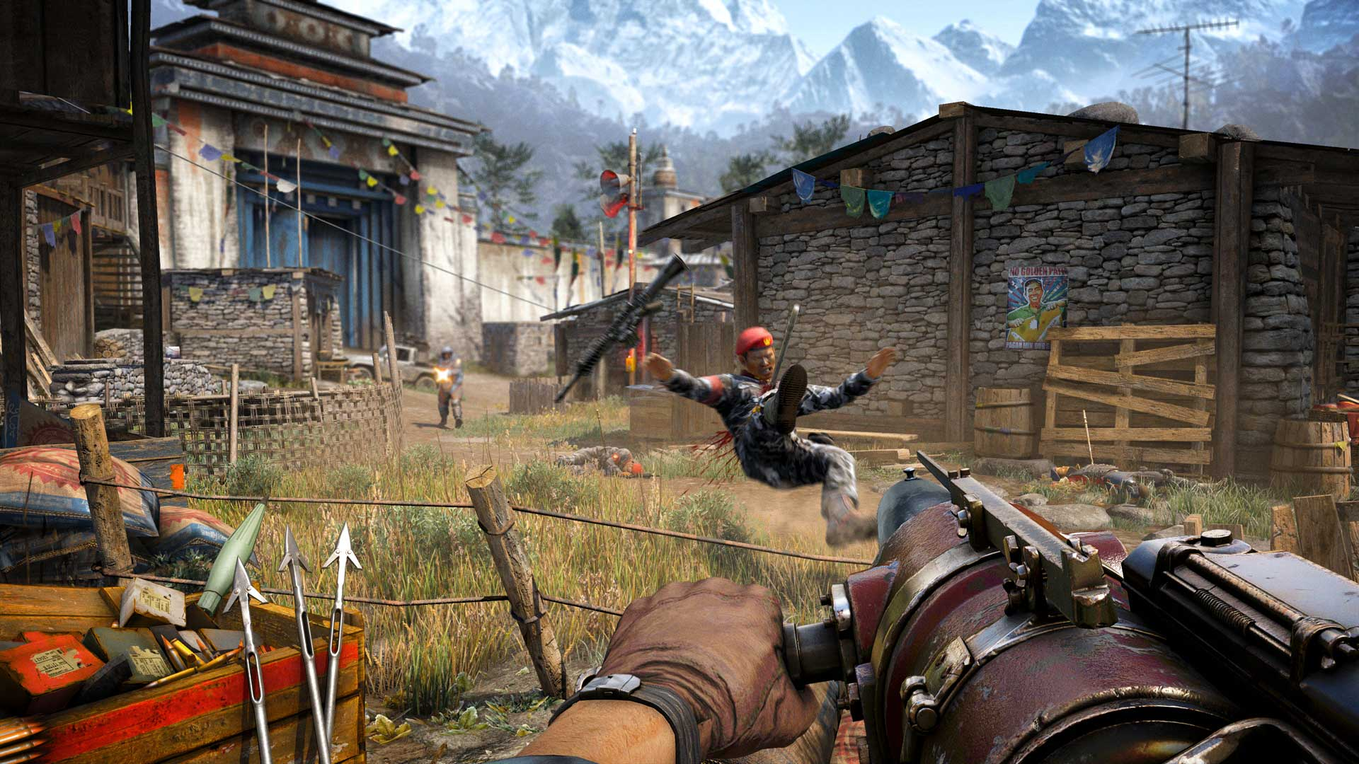 how to play as hurk in far cry 4