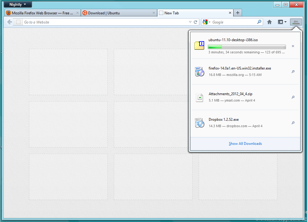 Firefox 14 Adds a Download Panel, It's Here to Stay This Time