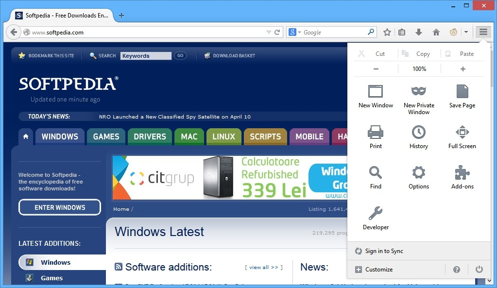 mozilla free download for windows 8