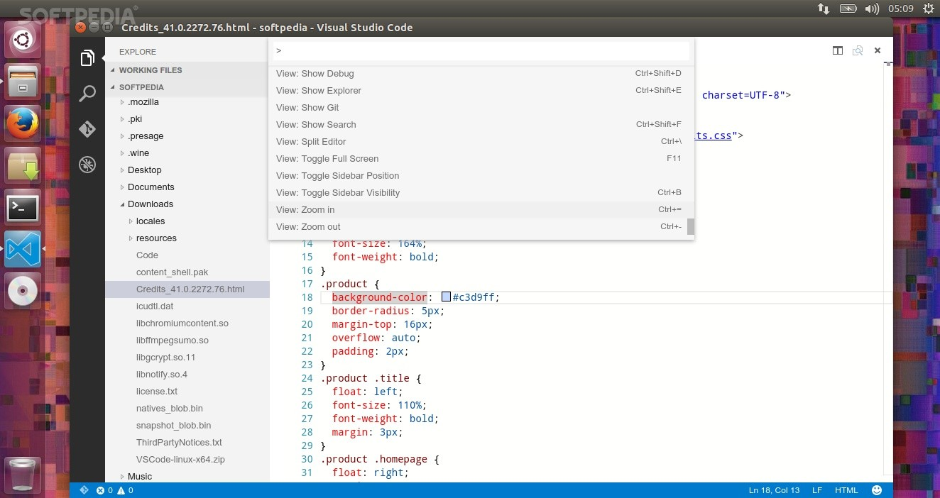 First Look at Visual Studio Code for Linux