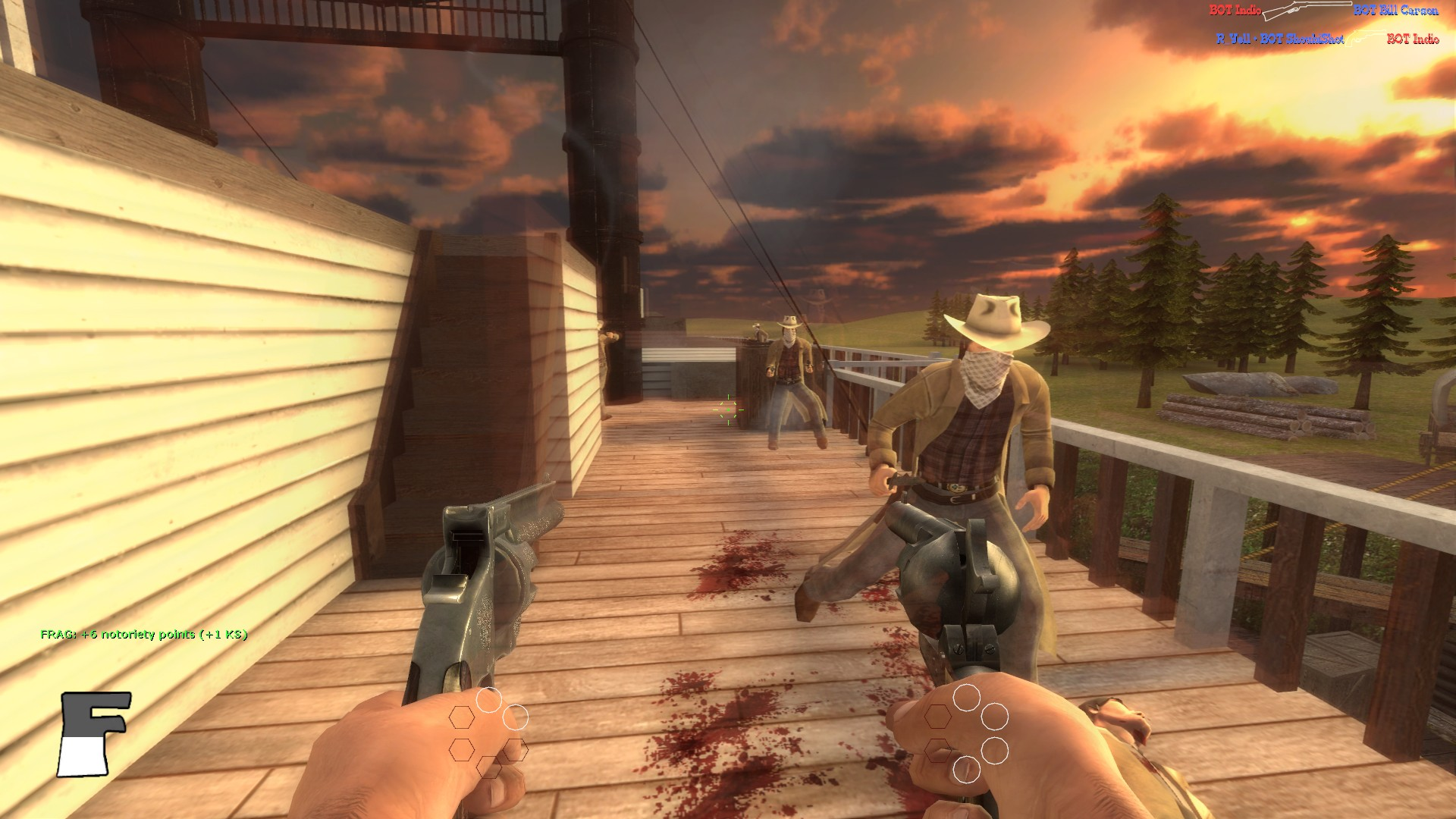 Fistful of Frags Is a Free FPS Multiplayer on Steam for Linux Based