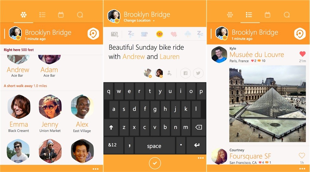 Foursquares swarm app arrives on windows phone 81 photos swarm for windows phone publicscrutiny Images