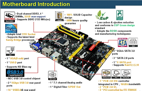 foxconn has an intel z68 motherboard of its own to show rh news softpedia com manuel intel desktop board manuel intel desktop board