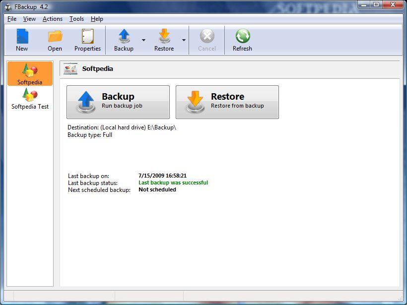 Free Backup Software III