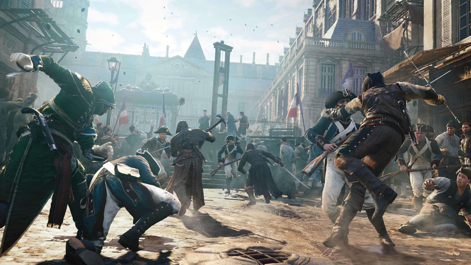 French Revolution Setting For Assassin S Creed Unity Emphasizes