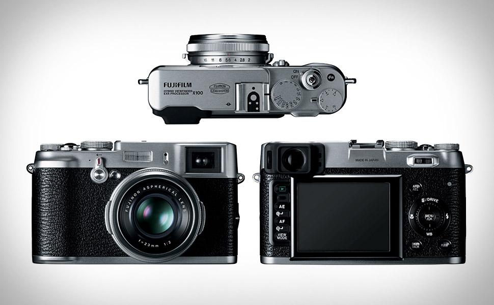 fujifilm updates its finepix x100 and x100 black digital cameras rh drivers softpedia com fujifilm x100 user manual Fuji Instax Camera