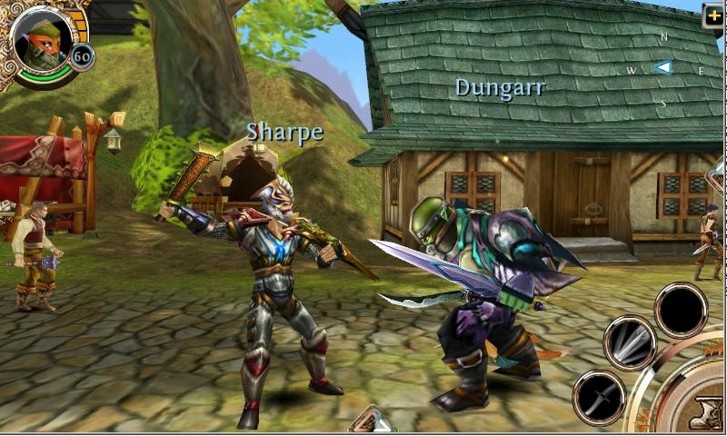 Gameloft's Order & Chaos Online Now on Android