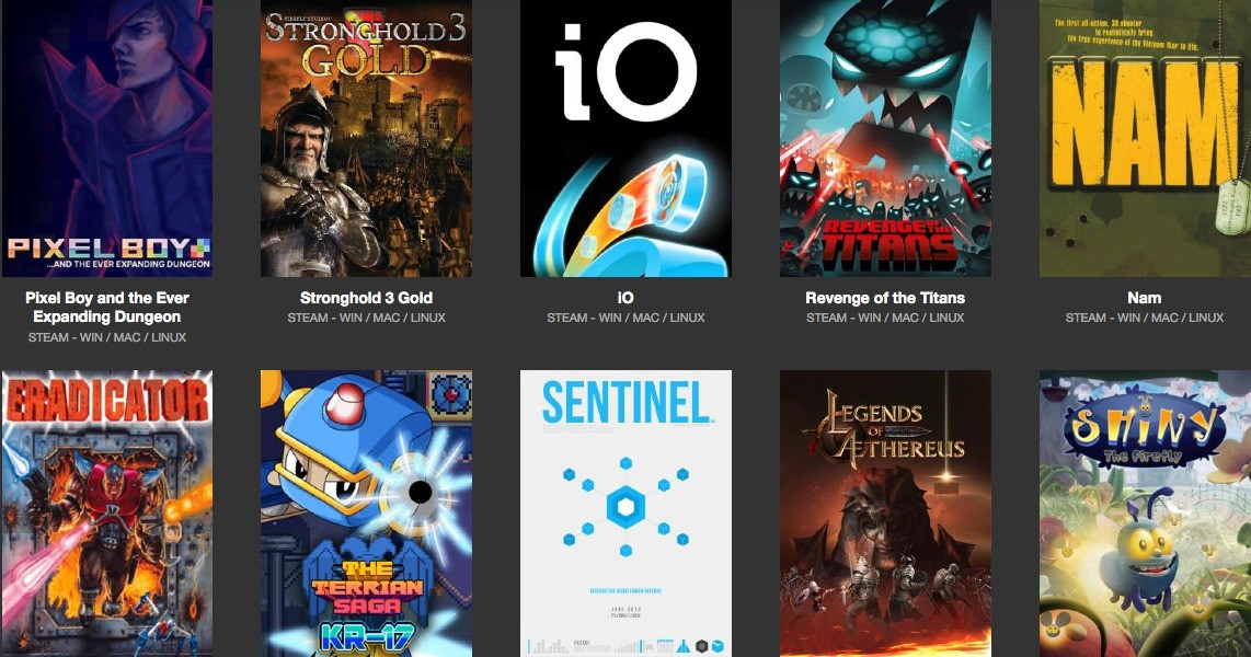 get 10 awesome games for linux in the trinity bundle sale