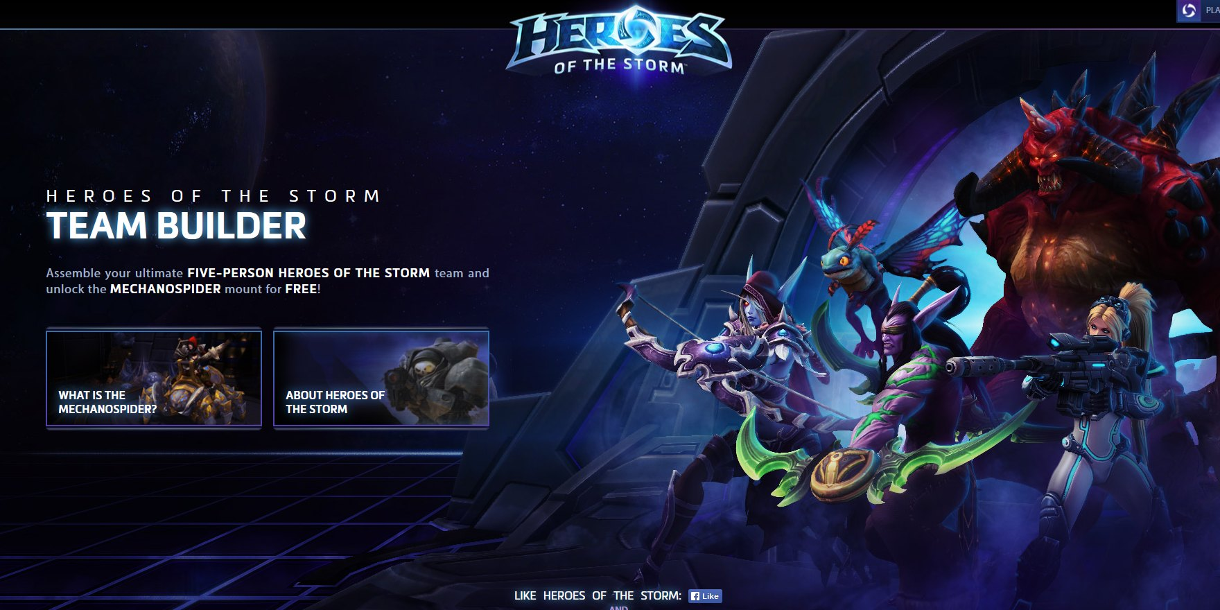 heroes of the storm free mounts