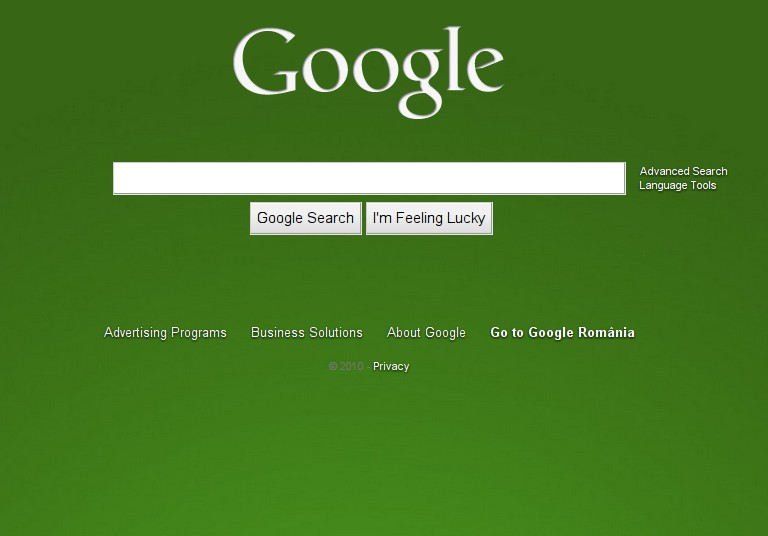 get the new custom background google homepage now