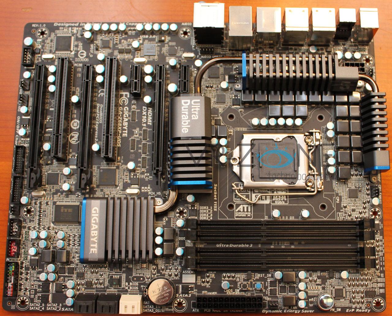 Gigabyte GA-Z68XP-UD5 Intel LGA 1155 motherboard