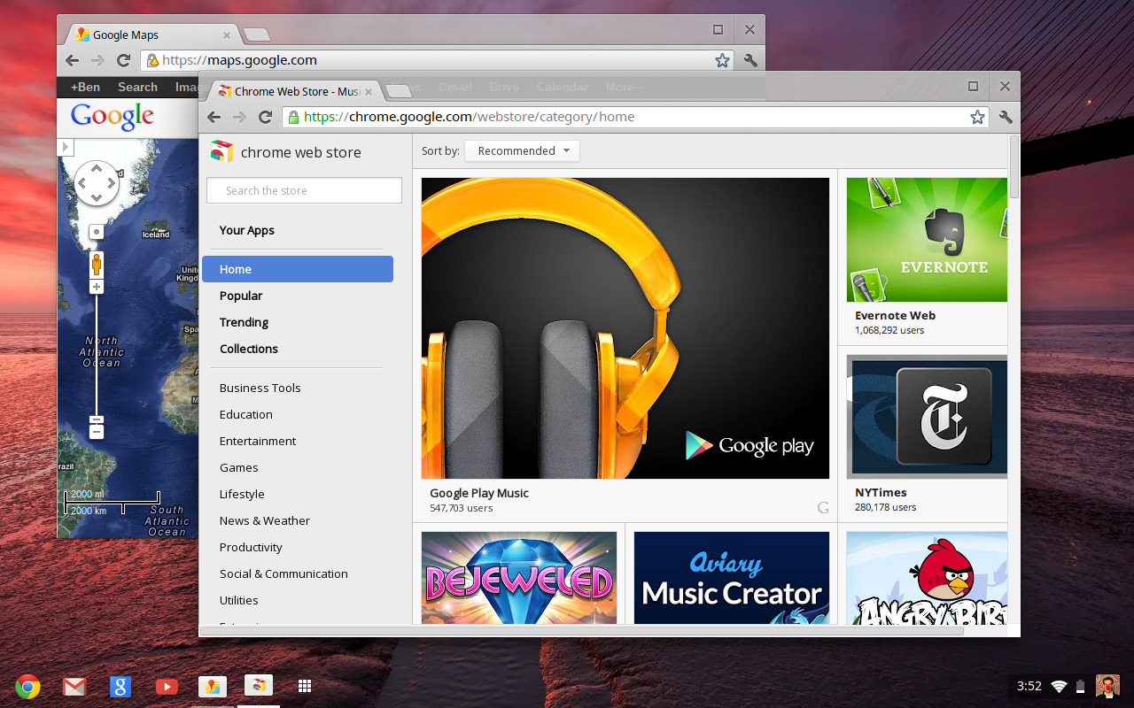 Google Chrome 20 Lands on Chromebooks with Drive Integration