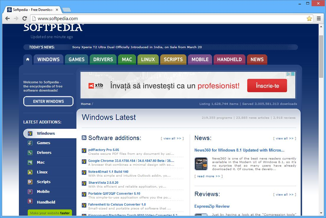 Pc software free download: google chrome latest version download.