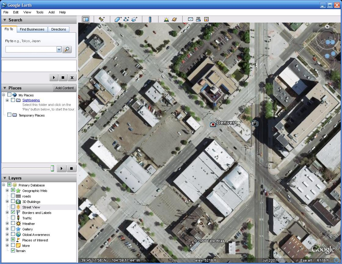 Google earth 4. 3 first look how to download google earth blog.