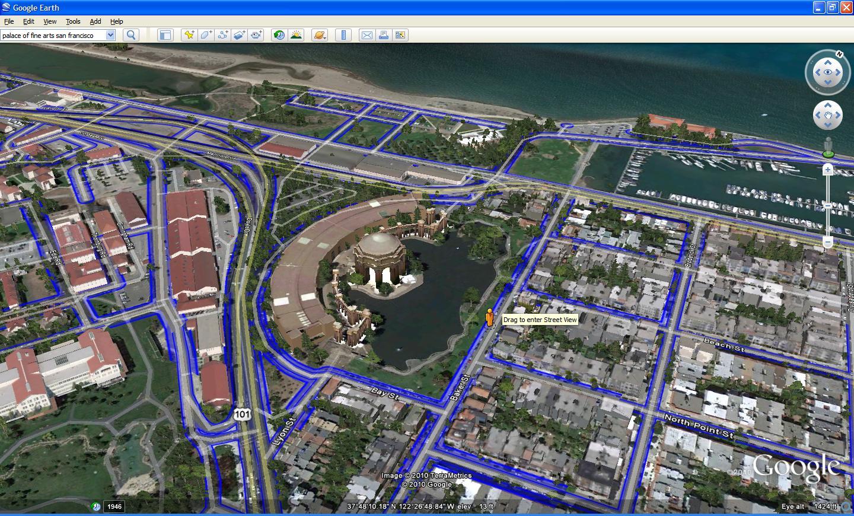 google earth 6 features better street view integration