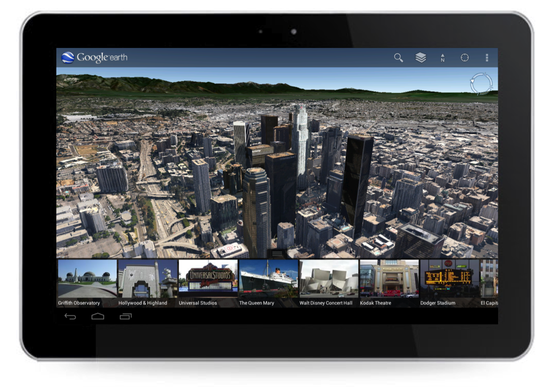 Google Earth for Android Has Gorgeously Rendered Cities, to