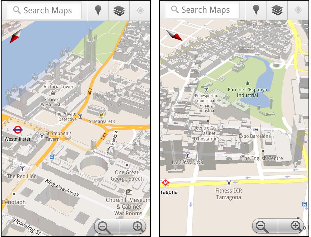 Google Maps Adds 3D Building Outlines in London, Paris and a Dozen ...