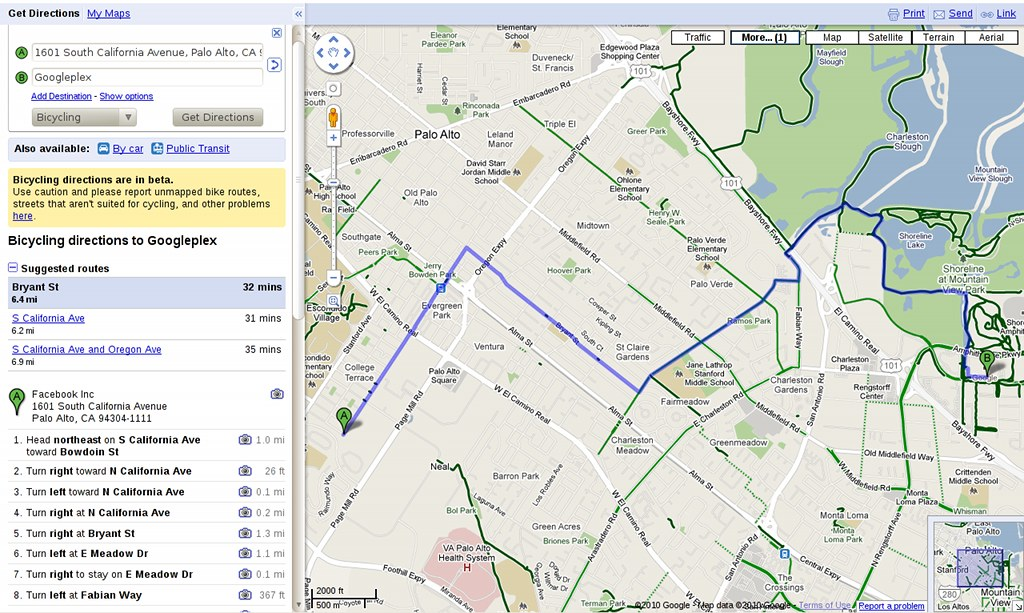 Google Maps Gets Bike Maps And Directions
