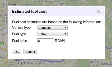 Fuel Cost Calculator >> Google Maps Quietly Rolls Out A Fuel Cost Calculator