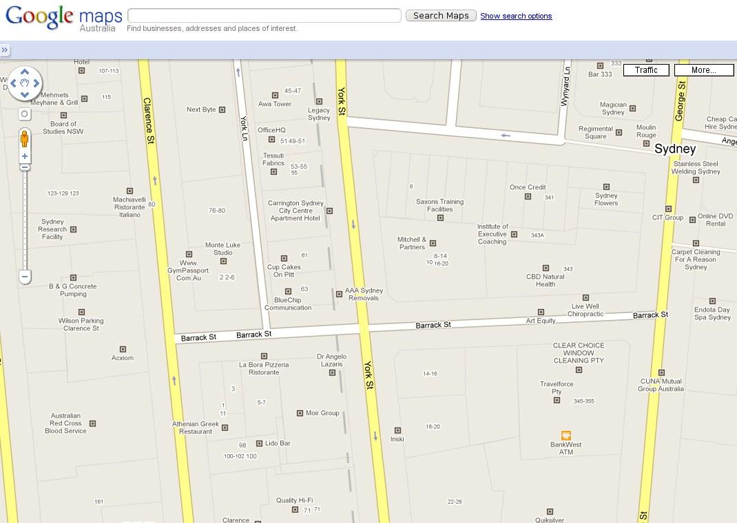 google maps testing company logo ads in australia. Black Bedroom Furniture Sets. Home Design Ideas