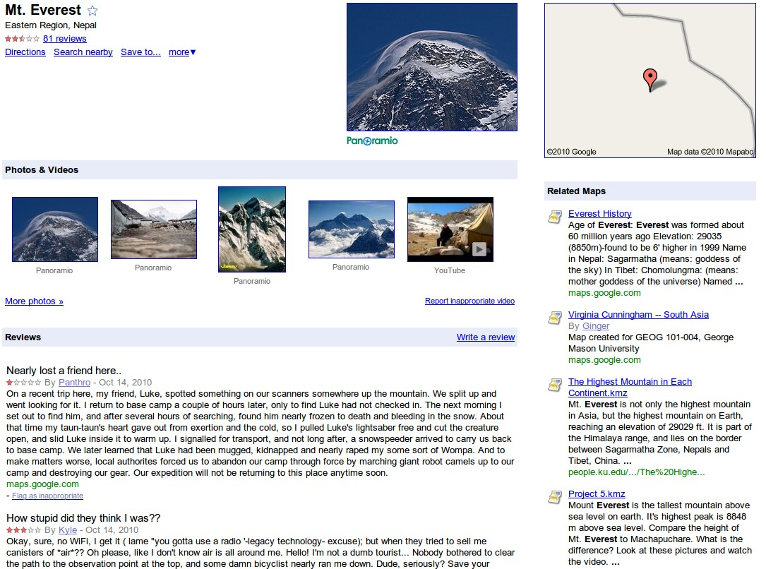 Mt Everest Google Maps on google maps niagara falls, google maps pikes peak, google maps grand canyon, google maps paris, google maps antarctica, google maps africa, google maps hong kong, google maps mount etna, google maps nepal, google maps himalayas, google maps mount rainier, google maps tibet, google maps mount hood, google maps solar eclipse, google maps mt. whitney,