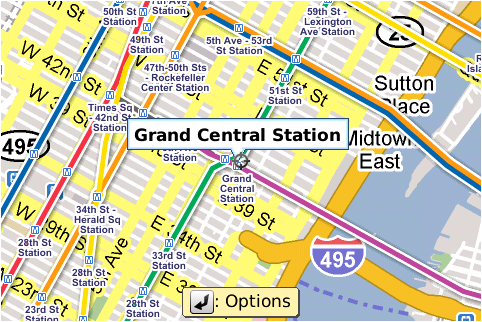 Google Map Of New York City.Google Maps For Mobile Now With Nyc Subway Maps