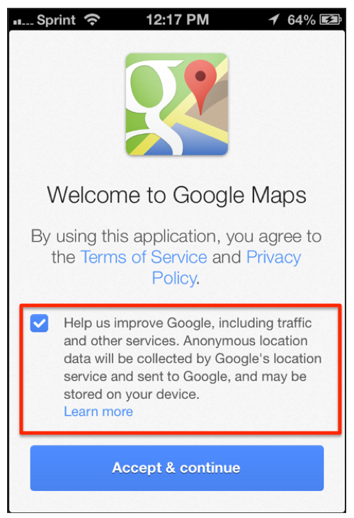 Google Maps iPhone App May Violate European Privacy Laws on