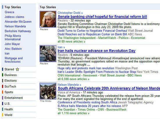 Google News to Get Trending Topics