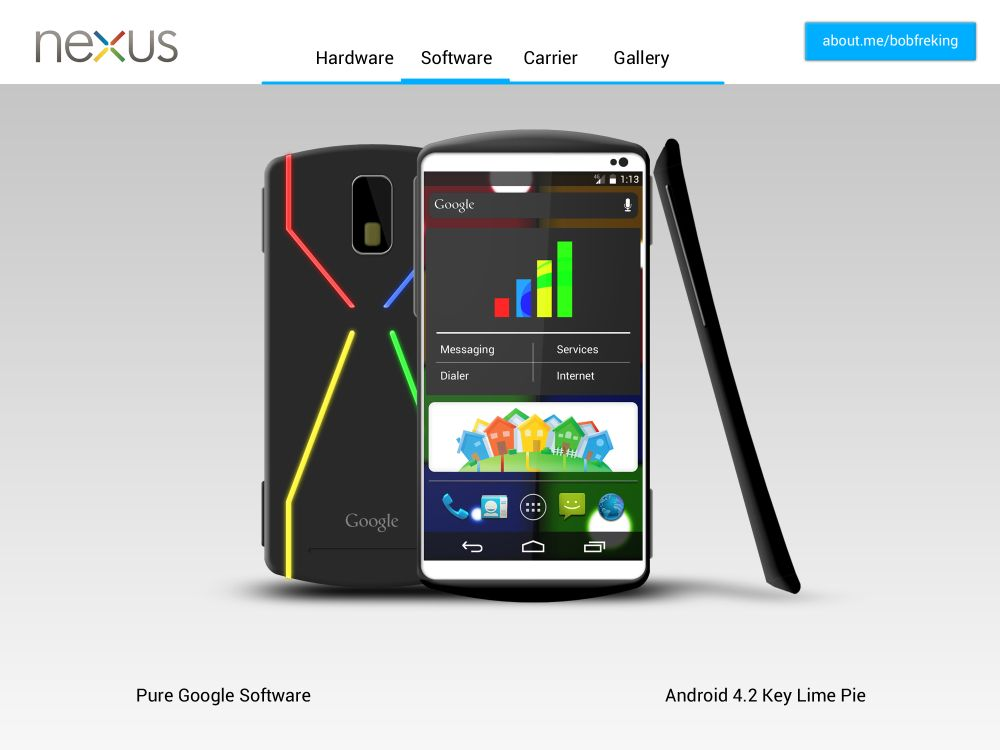 google new android phone nexus 2013 concept phone tegra 4 android 4 2 21745
