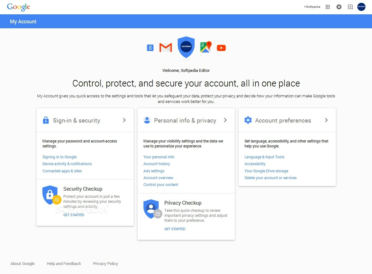 Google Updates Its Settings Page, Makes It Simpler