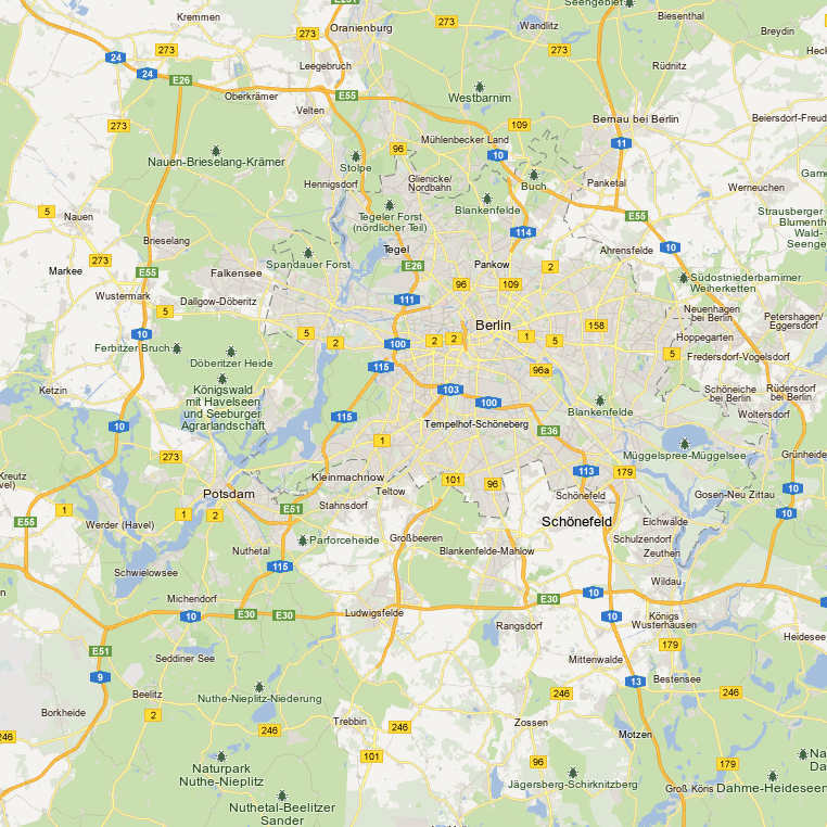 Map Of Germany Google.Google Updates Maps For The Uk Germany Sweden And Finland