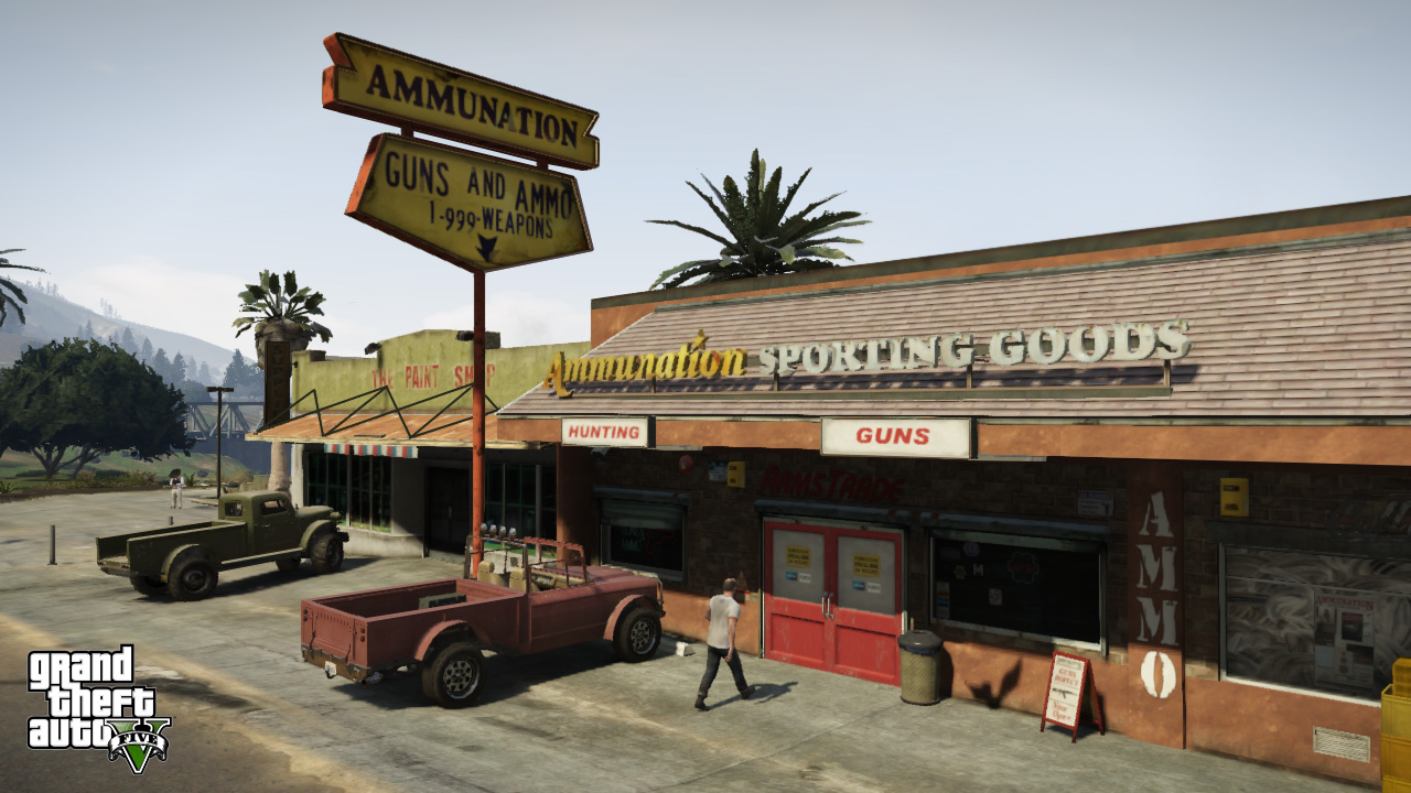 Grand Theft Auto 5 Gets New Screenshots, Details About Its World