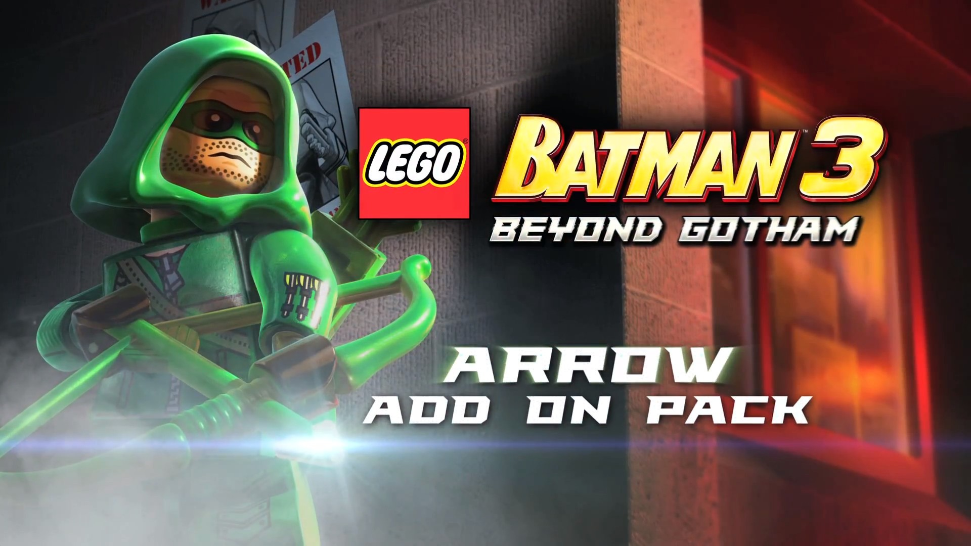 green arrow joins lego batman 3: beyond gotham starting january 14