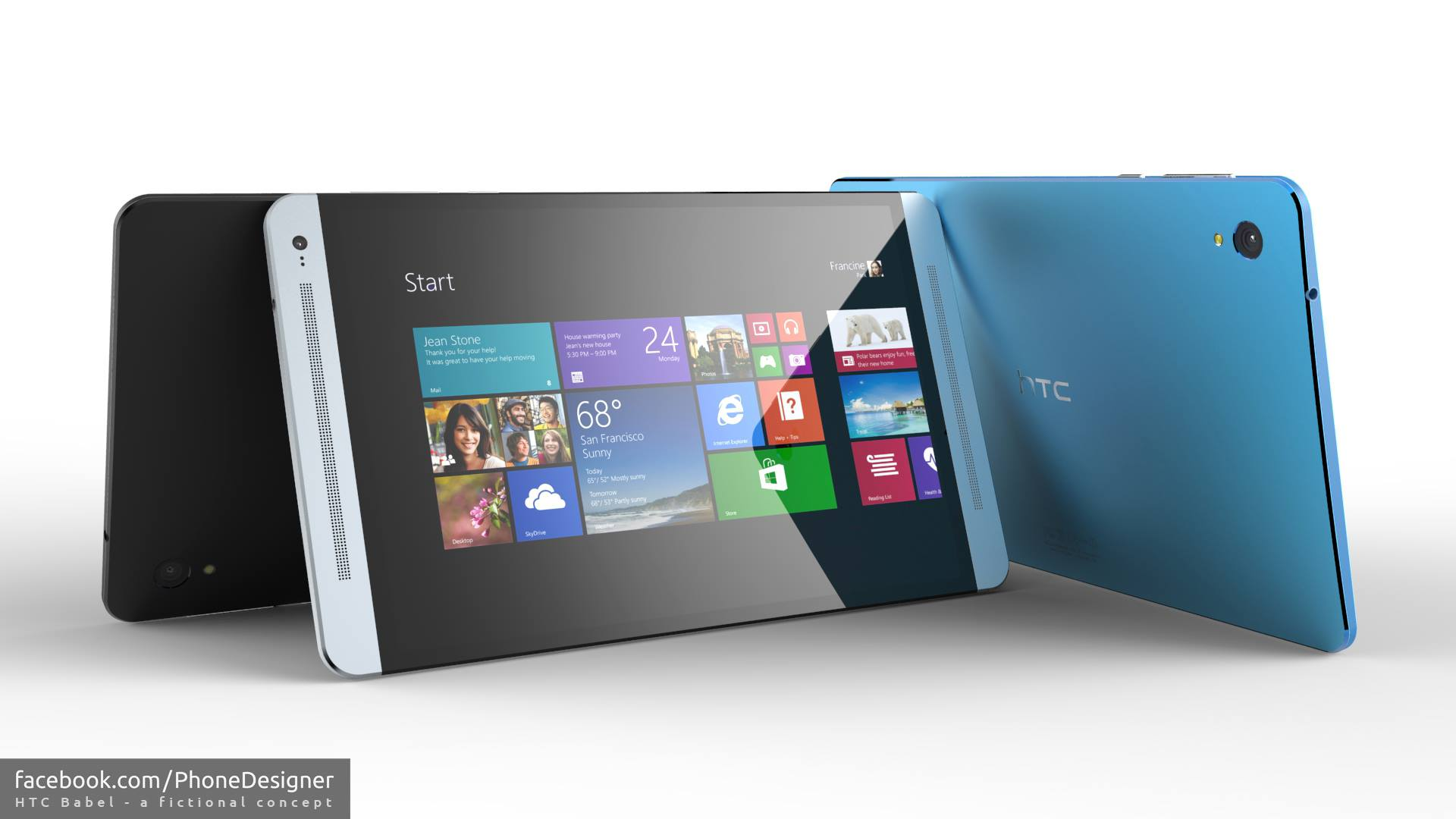 HTC Babel Tablet Runs Both 64-bit Windows 8 and Android ...