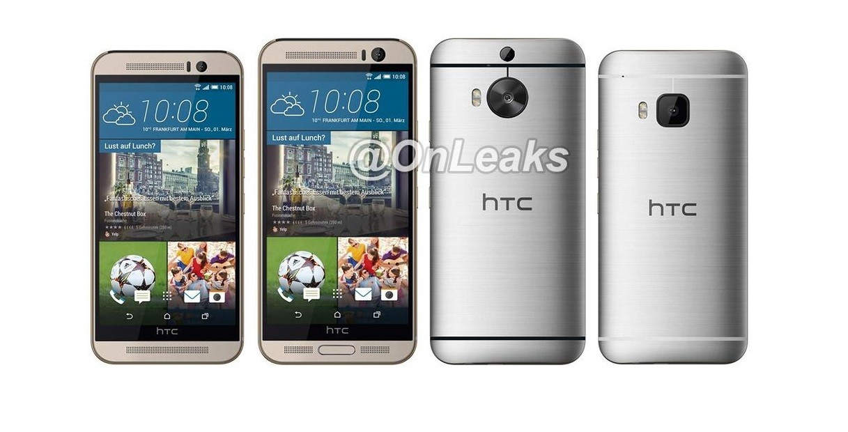 HTC One M9+ Stacked Against the HTC One M9, Here's the ...