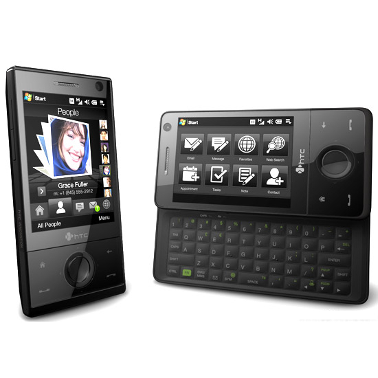 Htc touch pro 2 running updated bing app free turn by turn.